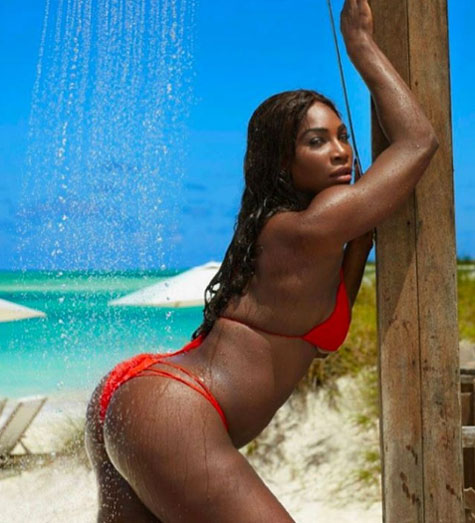Serena ups the oomph factor