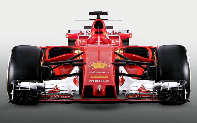 PHOTOS: Check out Ferrari's new car for the 2017 F1 season