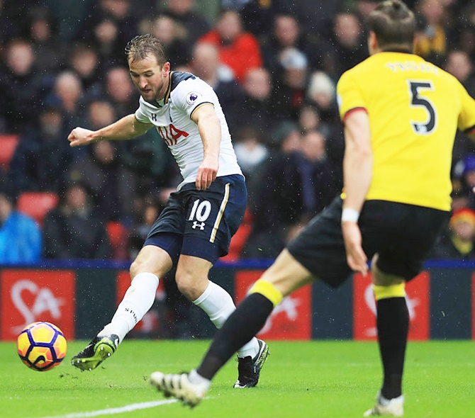 EPL: Kane and Alli strike twice as Tottenham crush Watford
