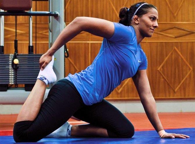 Lost focus due to injury, movie: Geeta Phogat