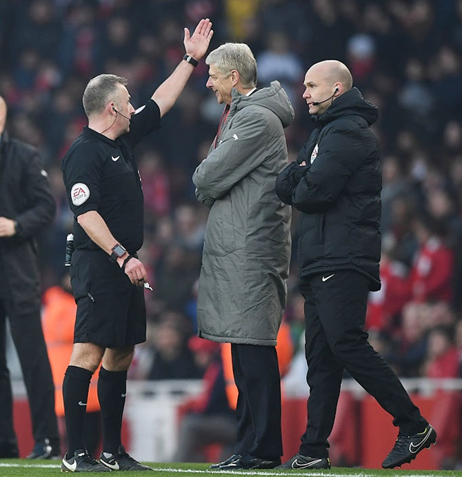 Arsenal's Wenger charged with misconduct