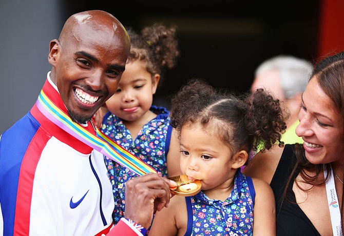 When Olympic champion Mo Farah delivered on his promise