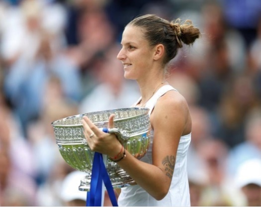 Pliskova sends out Wimbledon warning with Eastbourne win