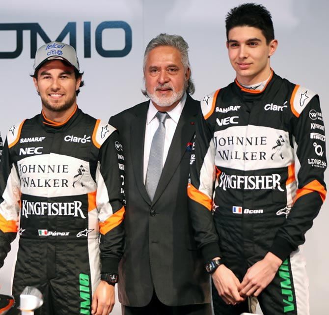 Mallya reminds Force India drivers that team comes first