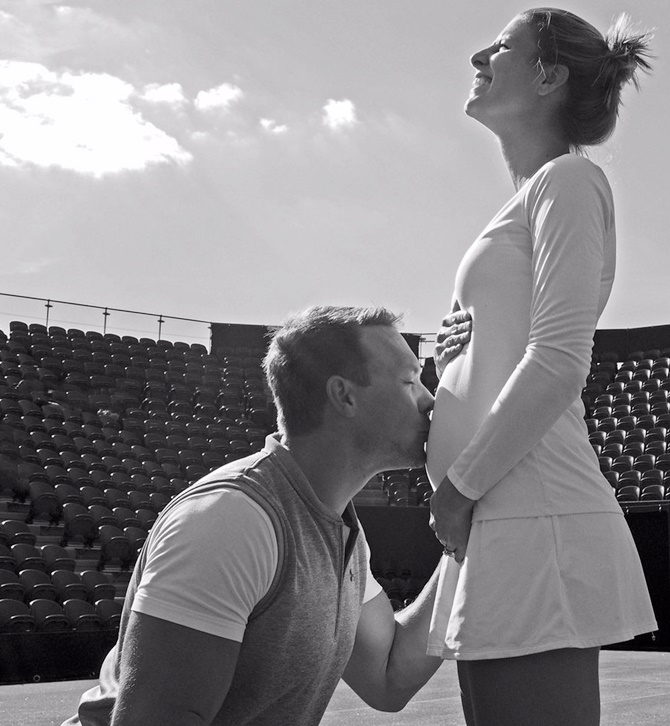 Revealed! This player appeared at Wimbledon while pregnant