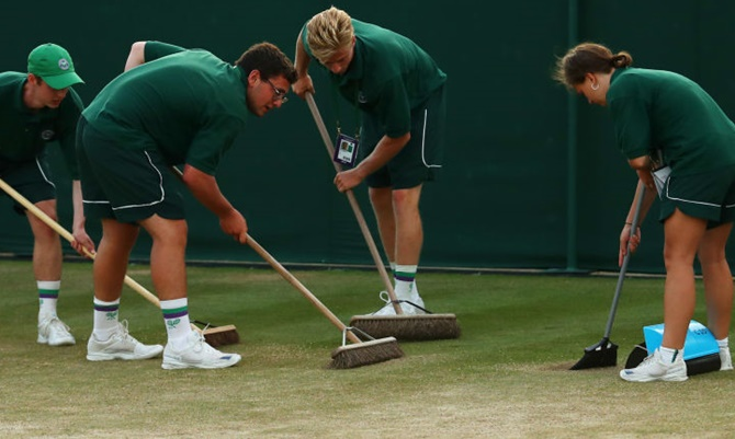 Groundsmen