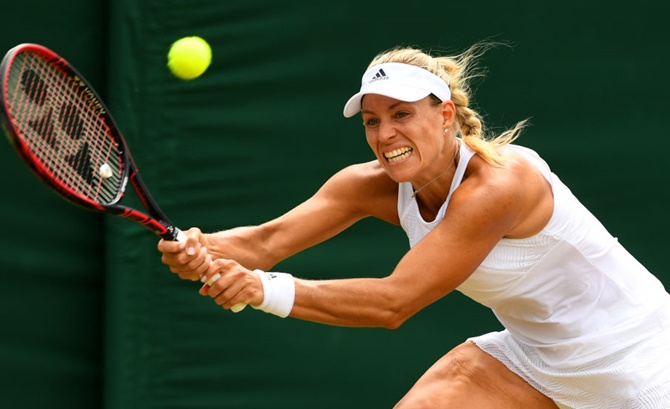 Kerber knocked out by Muguruza, loses No 1 spot