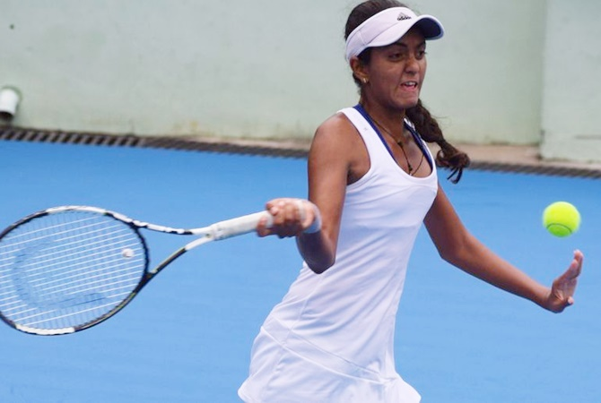 Indians at Wimbledon: Mahak ousted, Desai advances in girls singles