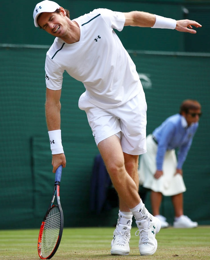 Hips don't lie for beaten Murray at Wimbledon
