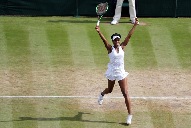 Serena 'rooting' for Venus to win her 6th Wimbledon crown