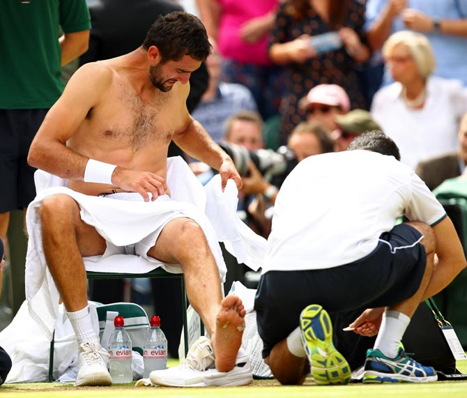 Cilic on what caused meltdown in Wimbledon final