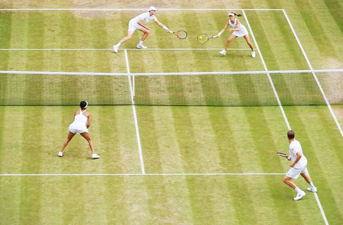 PHOTOS: Hingis-Murray are Wimbledon mixed doubles champions!