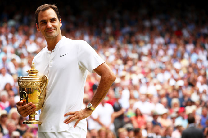 Federer names Wimbledon as potential future farewell venue