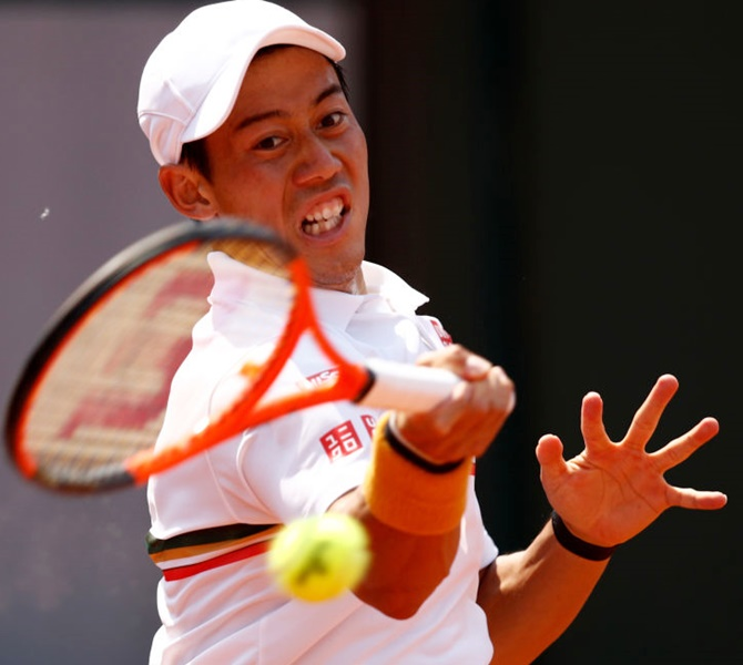 Japan's Kei Nishikori will be making his fourth appearance at London's O2 Arena where he reached the semi-finals in 2014 and 2016