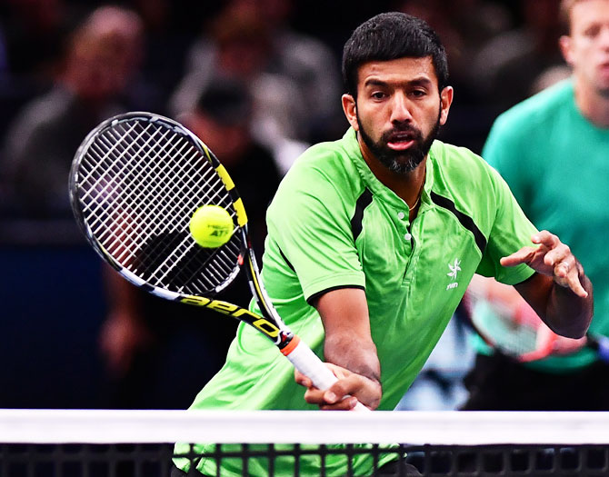 Rohan Bopanna is part of India's Davis Cup team that is to play in Pakistan