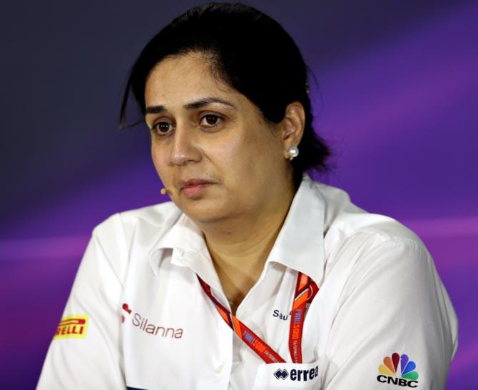 First female F1 team boss Monisha leaves Sauber