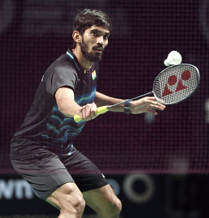 Kidambi Srikanth blew a 16-11 advantage in the opening game to eventually lose the quarters