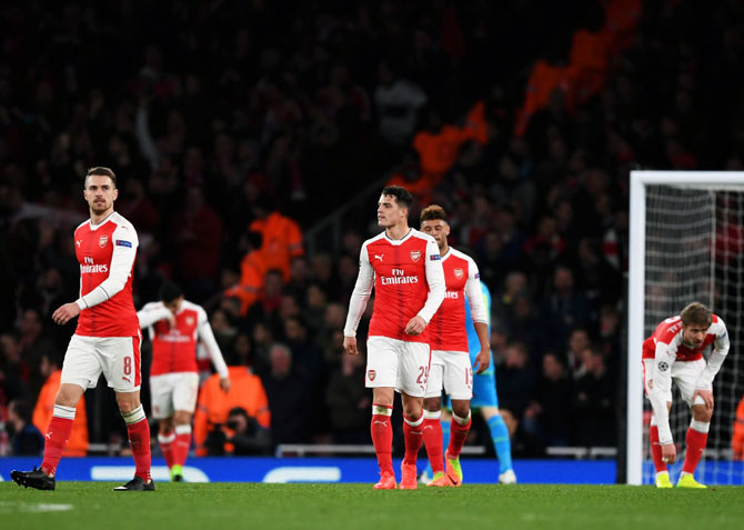 Image result for Arsenal Fails to get Champions League Ticket for the First time in 20 years