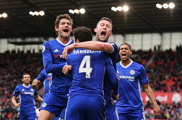 EPL: Chelsea 13 points clear; Arsenal stunned
