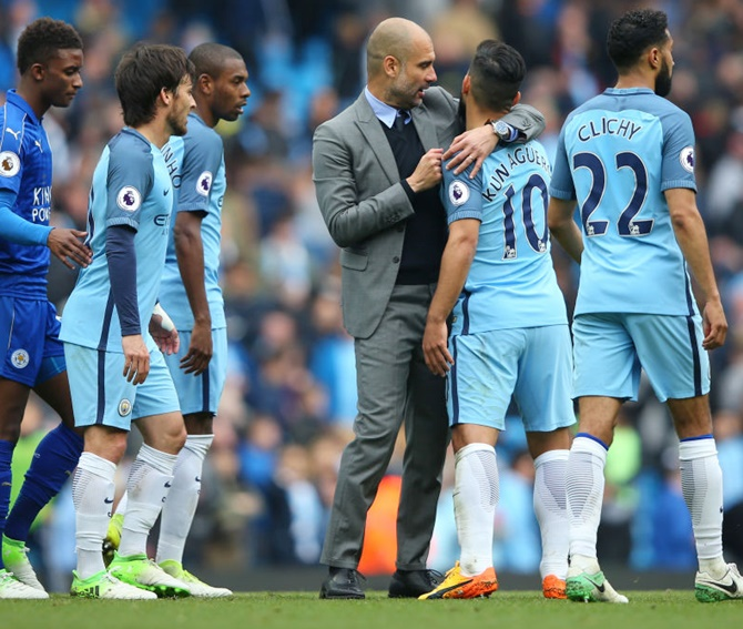 Guardiola promises improvement after first English season