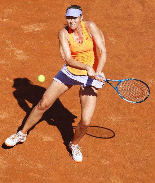 Sharapova advances in Rome, but will she make Wimbledon main draw?