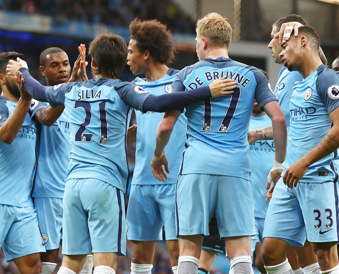 EPL: Man City on brink of Champions League spot, Arsenal win