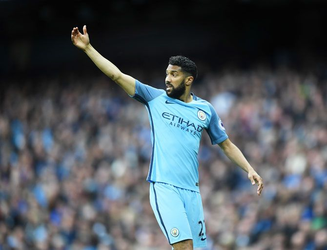 Manchester City's Gael Clichy