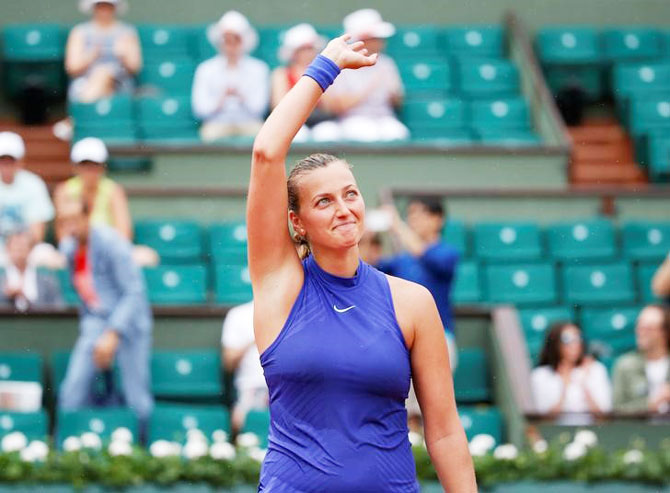 Two-time Wimbledon champion Petra Kvitova says there should be 'some kind of employment insurance' for lower ranked players