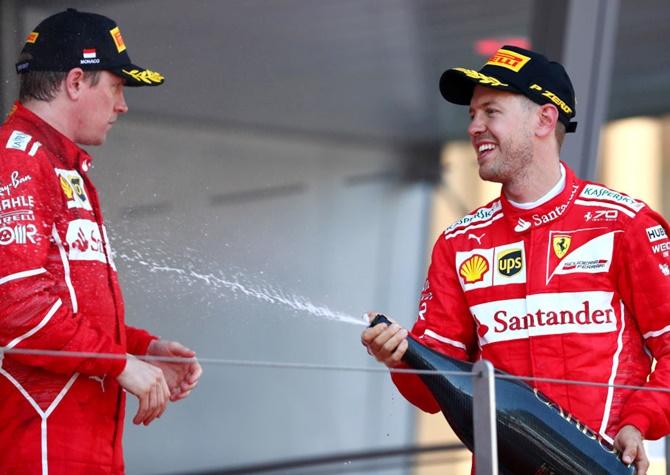 Is Ferrari favouring Sebastian Vettel?