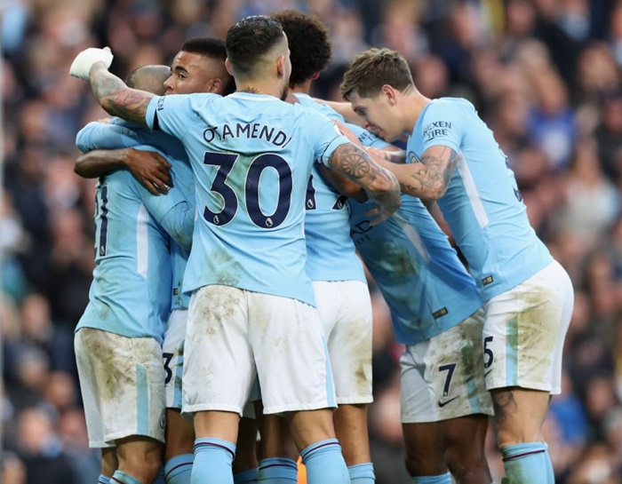 EPL PHOTOS: Man City continue winning streak, Tottenham edge past Palace