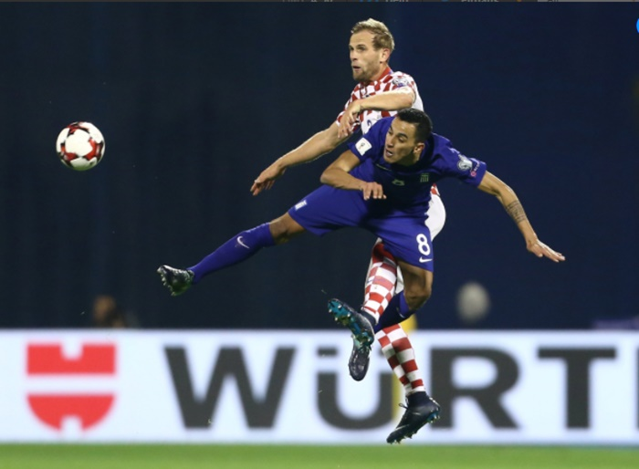 FIFA World Cup playoffs: Croatia rout Greece, Swiss win