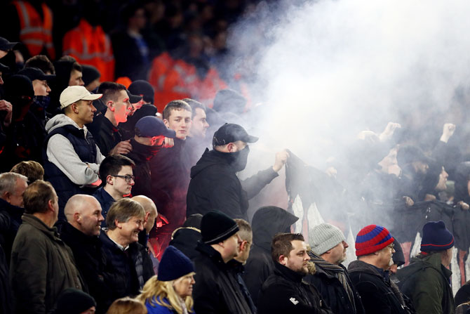 EPL: Brighton criticise Palace fans after trouble outside stadium