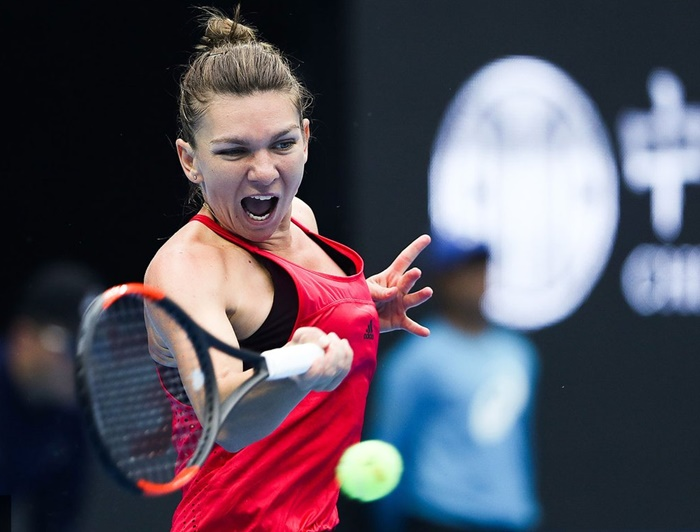 Simona Halep said she was raring to go after a spell during recovery from back injury where she did not pick up a racquet