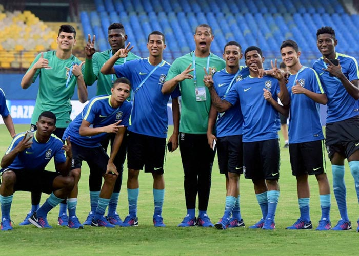 U-17 World Cup: Favourites Brazil set for another easy outing