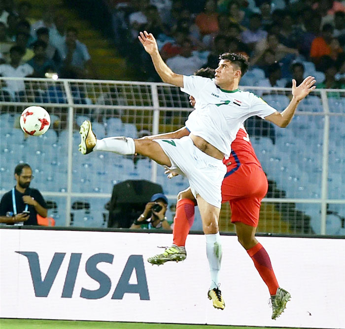 U-17 World Cup: Iraq beat Chile 4-0 to notch up maiden win