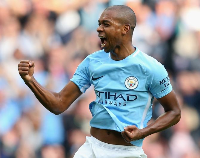 EPL PHOTOS: Manchester City hit seven; United held and Chelsea lose