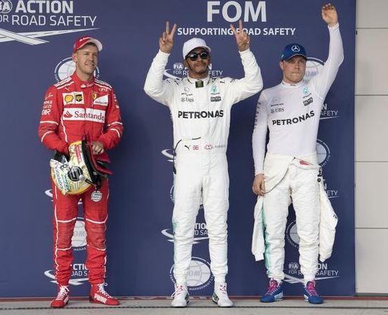 Hamilton blasts to US Grand Prix pole