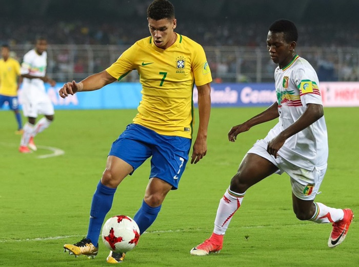 U-17 WC: Brazil finish third with win over Mali