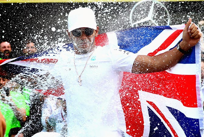 Hamilton already favourite for 2018 F1 title?