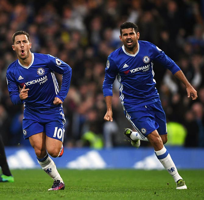Hazard hopes Chelsea and Costa can make peace
