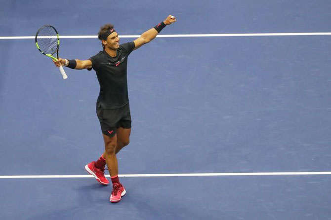 'Nadal has another four or five years and people are wrong when they think that he's physically wearing himself down;'