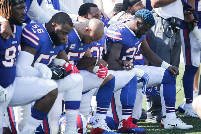 Trump lashes out at NFL over 'Black Lives Matter'