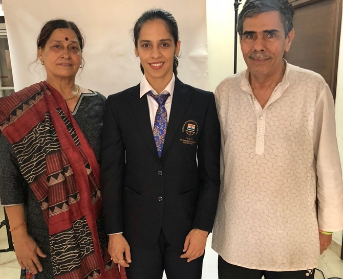 Her father denied access into Games village, Saina hits out