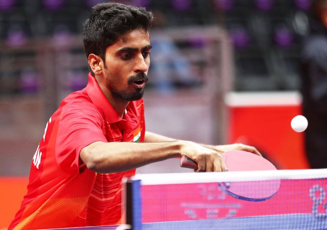 Table tennis player G Sathiyan had donated money for fight against COVID last year as well
