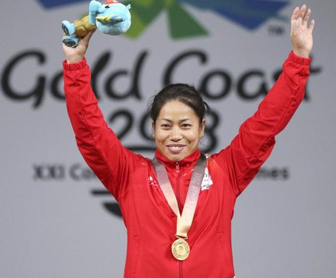 CWG gold medallist Sanjita Chanu fails dope test