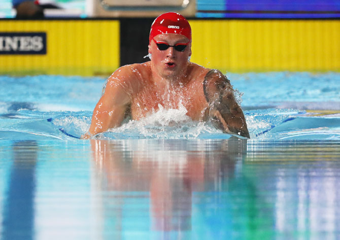 Winners at CWG: Peaty defends 100m breaststroke title
