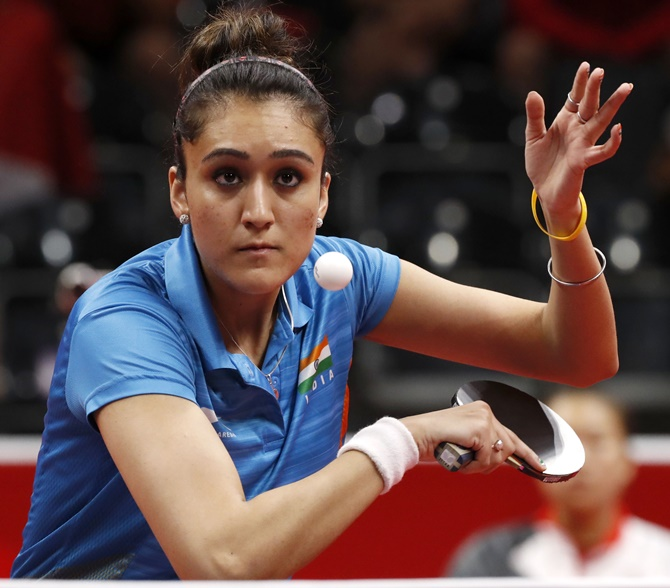 TT ace Manika hopes to emulate Saina, Sindhu