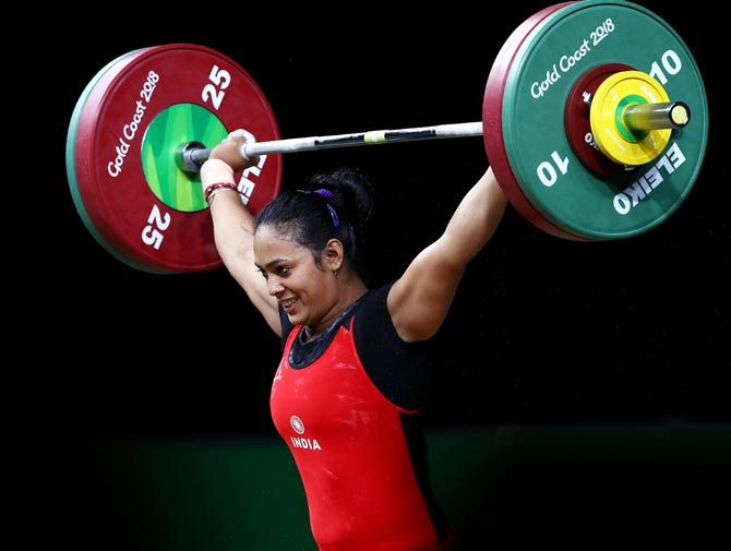 CWG PHOTOS: Punam, Manu and Manika lead India's golden charge