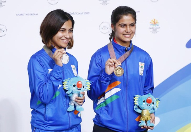 16-year-old Manu Bhaker wins 10m pistol
