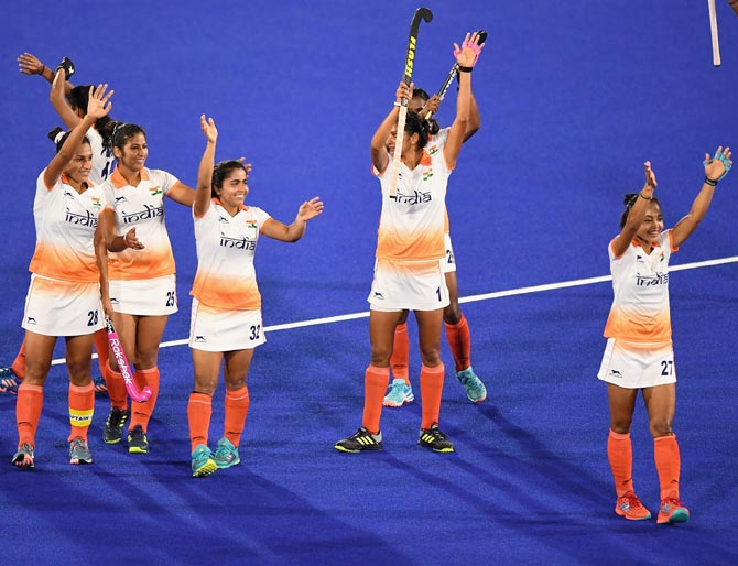 CWG: Indian women's hockey team enters semis; Hima in 400m final
